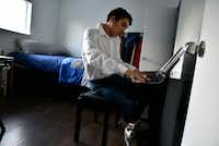 Franky at his keyboard. He's been taking piano lessons. . Ben Torres/Special Contributor(Ben Torres/Special Contributor)