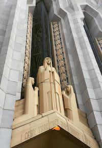 Boston Avenue United Methodist Church is one of Tulsa's best-known art deco buildings. (Sophia Dembling/Special Contributor)