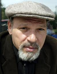 Playwright August Wilson in 2003(Ted S. Warren/The Associated Press)
