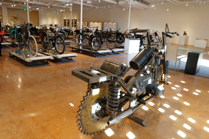 Dallas financier has a rare motorcycle collection to rival billy