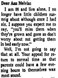 "<p><span style=""font-size: 1em; background-color: transparent;"">Letter from a reader responding to Melvin's original column about daylight saving time published in the Aug.  18, 1967 edition of </span><em style=""font-size: 1em; background-color: transparent;"">The Dallas Morning News</em></p>"