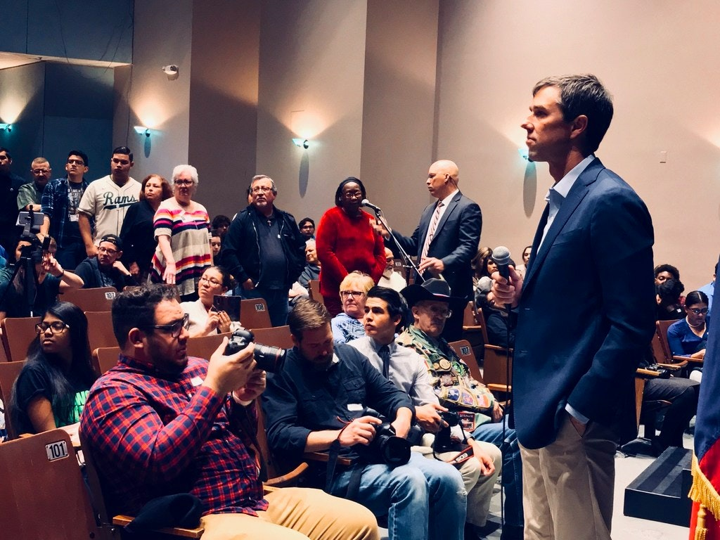 Image result for photos of beto o'rourke