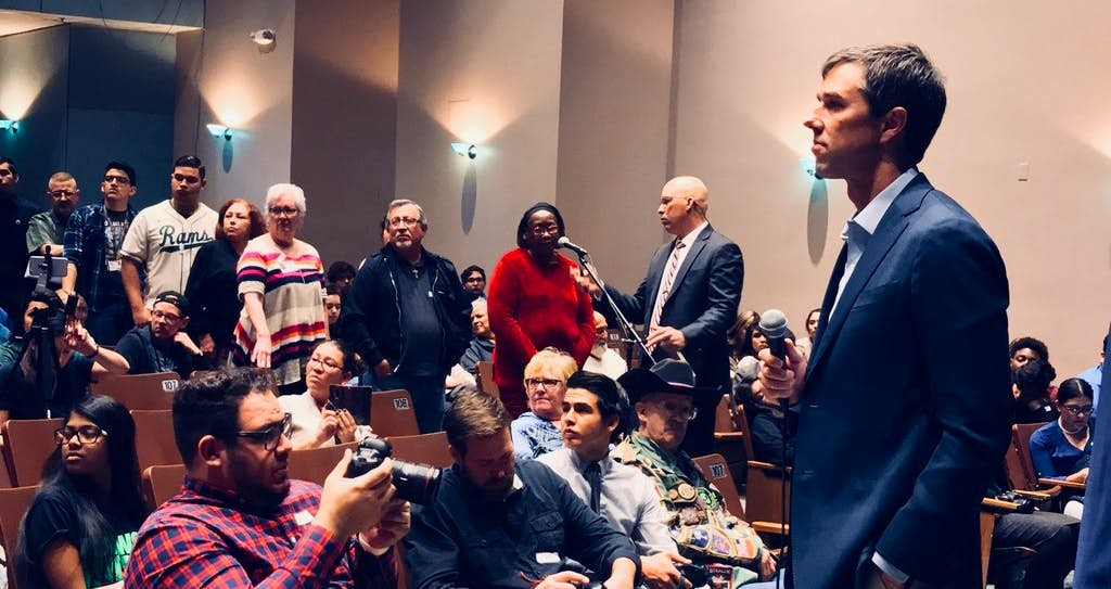 Beto O'Rourke's El Paso roots may be key in his uphill