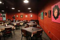 The dining area is in the lobby at Stage West Theatre.(Khampha Bouaphanh/Khampha Bouaphanh)