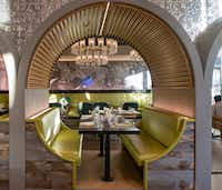 Metropole Bar + Kitchen, adjacent to the hotel lobby, ticks all the right boxes for California cuisine.(Michael Hiller/Special Contributor)