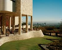 The Getty Center in Los Angeles, which was designed by Richard Meier(EMILY SHUR/NYT)