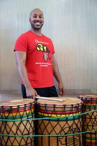 Tony Browne, director of Bandan Koro African Drum and Dance Ensemble, was injured during a trip to the United Arab Emirates.(Allison Slomowitz/Special Contributor)
