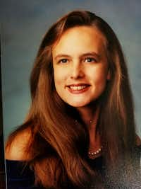 Stormy Daniels, whose real name is Stephanie Gregory Clifford, shown in high school.(Courtesy/Bill Gregory)