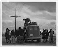 "<p><span style=""font-size: 1em; background-color: transparent;"">This photo made by Ansel Adams is part of an exhibit at the Dallas Holocaust Museum called ""Manzanar: The Wartime Photographs of Ansel Adams""</span></p>(Ansel Adams)"