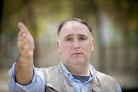 The James Beard Foundation will honor Jose Andres as Humanitarian of the Year in May.(Marvin Joseph/The Washington Post)