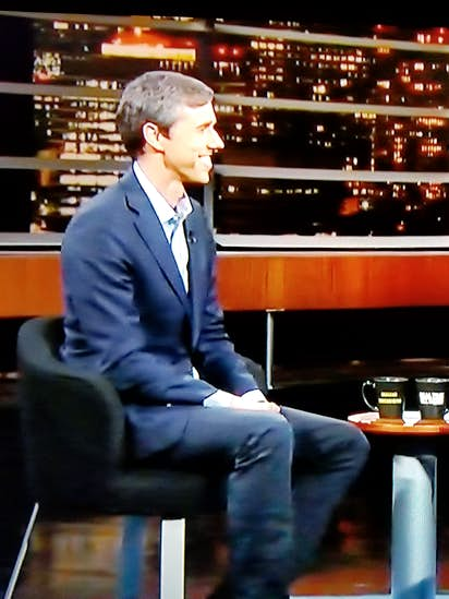 Beto O'Rourke agrees with Bill Maher: Ted Cruz is a 'giant a--hole