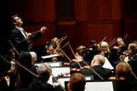 Guest conductor Ward Stare led the Fort Worth Symphony Orchestra at Bass Performance Hall in Fort Worth on Friday, March 16, 2018.(Lawrence Jenkins/Special Contributor)