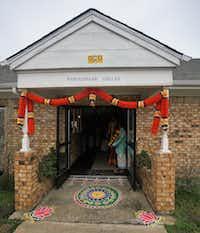 The entrance to the new Dallas Namadwaar in Garland.(Courtesy/Dallas Namadwaar)
