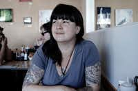 Graphic novelist/comic book writer Mariko Tamaki.(Sorrell Scrutton)