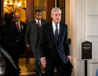 Robert Mueller, the special counsel investigating Russian interference in the 2016 election, has in recent weeks subpoenaed the Trump Organization to turn over documents, including some related to Russia, according to two people briefed on the matter, the New York Times reported on March 15. (Doug Mills/The New York Time)