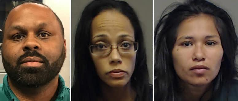 Mitchell Jones, Stacy Johnson and Jasmine Salaz are all charged with capital murder in the death of Richard Robinson.