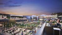 A new outdoor restaurant area attached to the enclosed mall will open later in 2018 at Plano's Shops at Willow Bend.(Courtesy photo/Shops at Willow Bend)