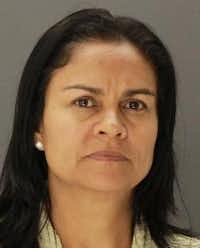 Aracely Meza ordered a 2-year-old boy to fast because she believed he was possessed by a demon. (Dallas County Jail)