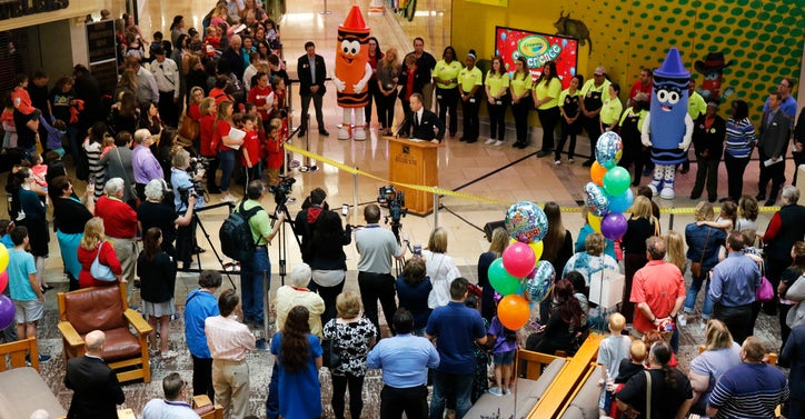 crayola experience is the next new thing in plano mall s