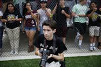 Anthony Mazur in Argyle, Texas Thursday May 28, 2015.(Andy Jacobsohn/Staff Photographer)