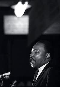 On April 3, 1968, the Rev. Martin Luther King Jr. made his last public appearance at the Mason Temple in Memphis, Tenn.(Charles Kelly/The Associated Press)