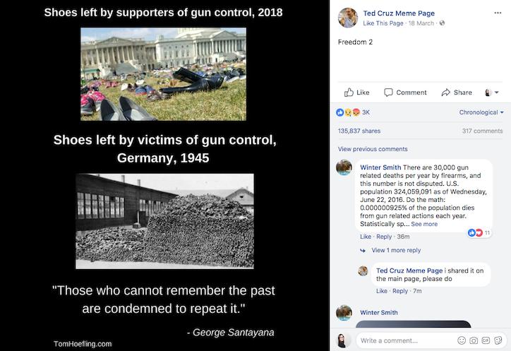Ted Cruz Meme Page on Facebook