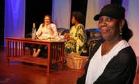 Phyllis Cicero (right) is directing <i>I&nbsp;Get the Blues, Sometimes I Do</i>, by Tsehaye Geralyn Hebert, as part of the of Down For #TheCount, a festival of women's plays at Bishop Arts Theatre Center.(Louis DeLuca/Staff Photographer)