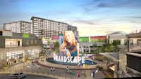 The GrandScape mixed-use project is in The Colony.(GrandScape)