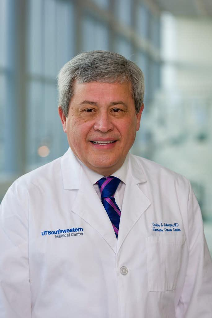 Dr. Carlos L. Arteaga, director of the Harold C. Simmons Comprehensive Cancer Center at UT Southwestern Medical Center.(UT Southwestern Medical Center)