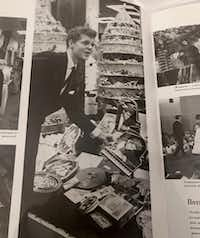 This photo from a Russian-language magazine is the same as the one Kuchment saw in <i>The New York Times</i>. It seems to match up with the facts recounted by Kuchment's mother.*