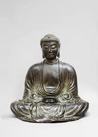 Buddha statue/Kimbell Art Museum