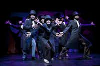 A scene from<i> Abraham Lincoln's Big, Gay Dance Party</i>, written by Aaron Loeb and directed by Chris Smith, in New York, Aug. 6, 2010 (RICHARD TERMINE/NYT)