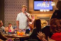 Vegas Uncork'd offers plenty of opportunities to get up close and personal with famous chefs at dinners hosted by luminaries such as Gordon Ramsay.(Michael Hiller/Special Contributor)