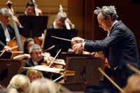 The Dallas Symphony Orchestra with conductor Fabio Luisi on March 8.(Ben Torres/Special Contributor)