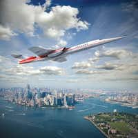 Fort Worth billionaire Robert Bass' Aerion Corp. is working with Lockheed Martin and GE Aviation to develop the world's first supersonic business jet.(Aerion Corp.)