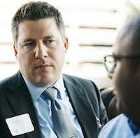 Lance Currie, a partner at Carrington Coleman law firm, was a member of the planning committee for the REAL City fellows.(Emily McCartney/REAL City)