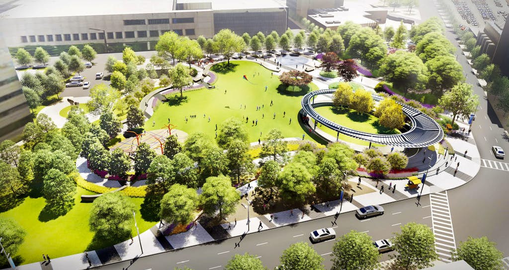 Downtown Dallas park projects will create green space three times ...
