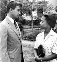 Sam Waterston stars as Forrest Bedford and Regina Taylor as Lilly Harper in <i>I'll Fly Away. </i>(File Photo)