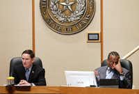 County Judge Clay Jenkins and Commissioner John Wiley Price have frequently clashed on the Dallas County Commissioners Court.(File Photo/Staff)