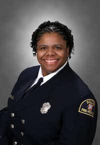 Angie Wilson<br>(Dallas Fire-Rescue Department photo<br>/Dallas Fire-Rescue Department<br>)