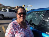 "<p><span style=""font-size: 1em; background-color: transparent;"">""I want to invite Trump to visit us here, remind him we, too, are Americans,"" says Maria Davila, a domestic worker in El Paso. ""Look around; there's no crisis. We're normal people living in peace, safety. I'd wish he'd put that money to go toward education, and not to generate fear.""</span></p>(Alfredo Corchado/Staff)"