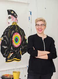 New York-based visual and performance artist Jen Ray.(Ed Marshall)