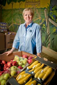 Jan Pruitt, the late CEO and president of the North Texas Food Bank. (North Texas Food Bank)