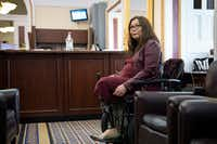 <p>Sen. Tammy Duckworth, D-Ill., talks to reporters on Capitol Hill on March 20. Duckworth gave birth to a daughter, Maile Pearl Bowlsbey, on April 9, making her the first U.S. senator to give birth while in office, she said in a prepared statement.</p>(Erin Schaff/The New York Times)