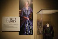 First Ladies: Style of Influence runs through Oct. 1 at the George W. Bush Presidential Center and includes highlights from every first lady.(Andy Jacobsohn/Staff Photographer)