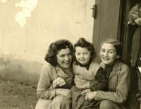 Claire Sternberg, Magda Sternberg, and their niece, Fritzi, who died in Auschwitz. Fritzi was three years old. (Provided by Naomi Martin / Staff)((Provided by Naomi Martin / Staff))