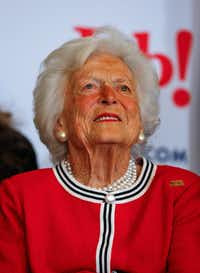 Barbara Bush (FILE 2016/AP)