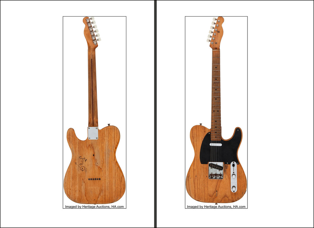 Stevie Ray Vaughan's electric guitar fetches $250,000 at Dallas