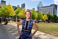 "<p><span style=""font-size: 1em; background-color: transparent;"">Kit Sawers' first big event after formed her own special events company in 2012 was the opening of Klyde Warren Park. Now, she's coming aboard as the park's president.</span></p>(Ben Torres/Special Contributor)"