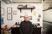 Shea Serrano, at his office in Houston, Sept. 29, 2017.  (<p>Michael Stravato</p>/<p>The New York Times</p>)
